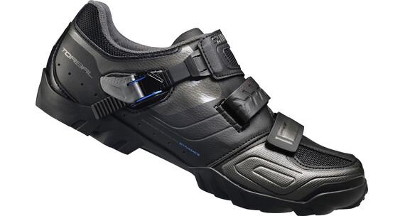 Shimano SH-M089L kengät leveä , musta